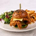 Milanese Chicken Burger